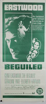 Beguiled Eastwood Australian Original Movie Poster