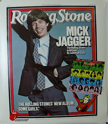 Rolling Stones Some Girls Original Promo Poster 1978