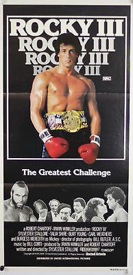 Rocky III Australian Original Movie Poster