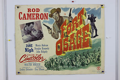 Fort Osage Cowboy Original Movie Poster 1951 22x28""