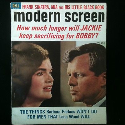 Modern Screen Magazine 1966 Jackie Kennedy, Monkees #53