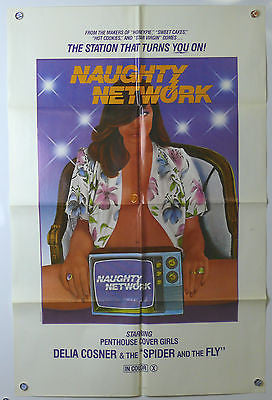 Naughty Network Original X Rated Movie Poster