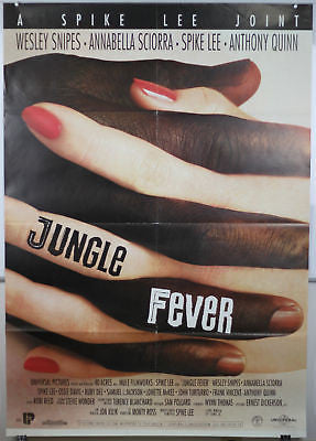 Jungle Fever Spike Lee GIANT SIZE Italian Movie Poster