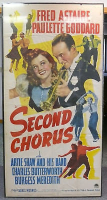 Fred Astaire Second Chorus Original Movie Poster 1940