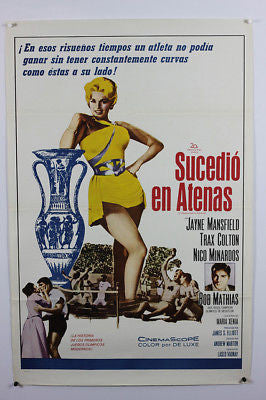 It Happened In Athens Mansfield Original Movie Poster