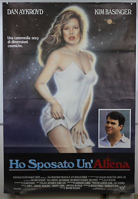 My Stepmother Is Alien GIANT SIZE Italian Movie Poster
