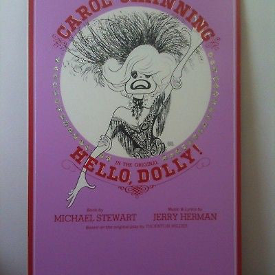 Hello Dolly Broadway Theater Poster