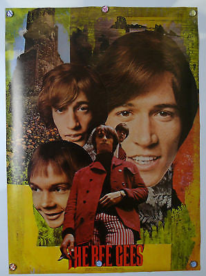 Bee Gees Original  Poster 1968 Mod Design