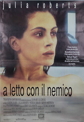 Sleeping with the Enemy GIANT SIZE Italian Movie Poster