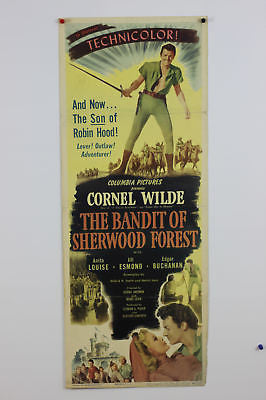 Bandit of Sherwood Forrest Original Movie Poster 1946