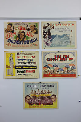 Frank Sinatra Lobby Cards Anchors Away, On The Town
