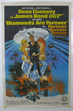 James Bond Diamonds Are Forever Original Movie Poster