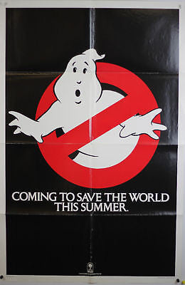 Ghostbusters Coming Teaser Original Movie Poster