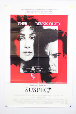 Suspect Cher Original Movie Poster