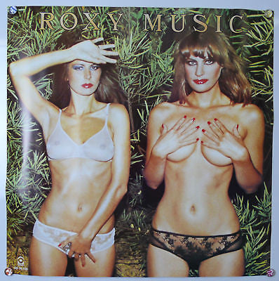Roxy Music Country Life Banned Original Promo Poster 1974