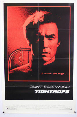 Clint Eastwood Tightrope Original Movie Poster 27x41""