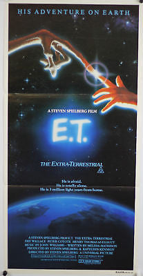 E.T. Australian Original Movie Poster