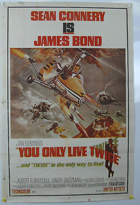 James Bond You Only Live Twice Original Movie Poster