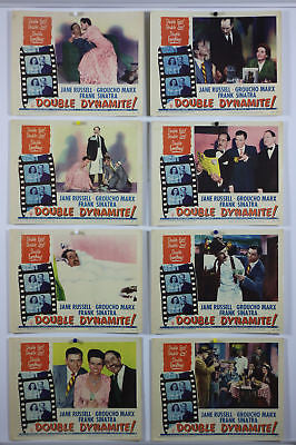 Double Dynamite Original Lobby Card Set 1951