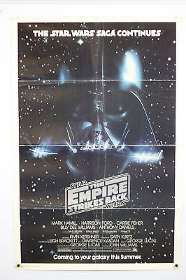 Empire Strikes Back Advance Original Movie Poster 27x41