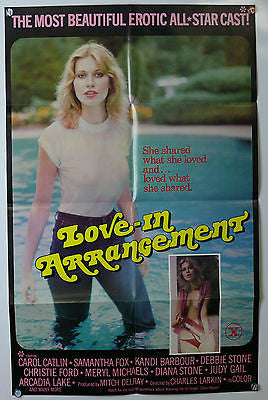 Love-In Arrangement Original X Rated Movie Poster