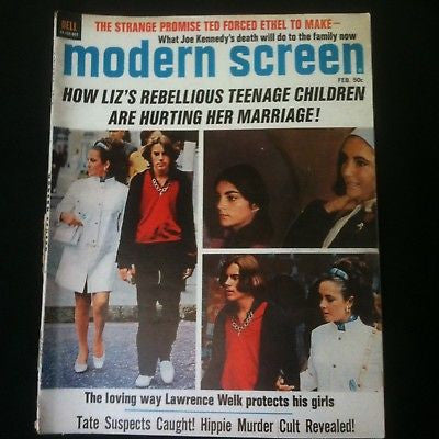Modern Screen Magazine Liz Taylor #19