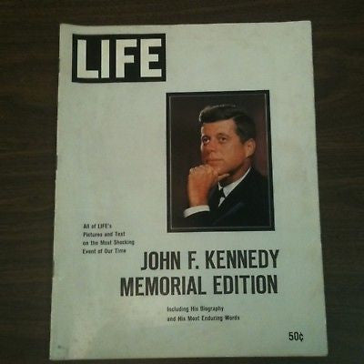 JFK Life Magazine Memorial Edition 1963