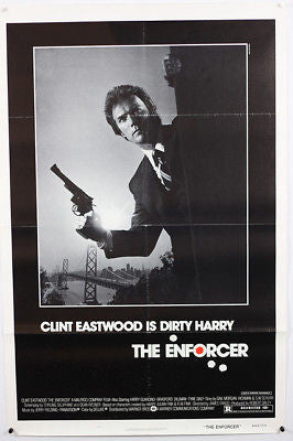 Clint Eastwood Enforcer Original Movie Poster 27x41""