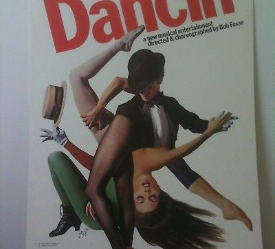 Dancin' Original Broadway Theater Poster