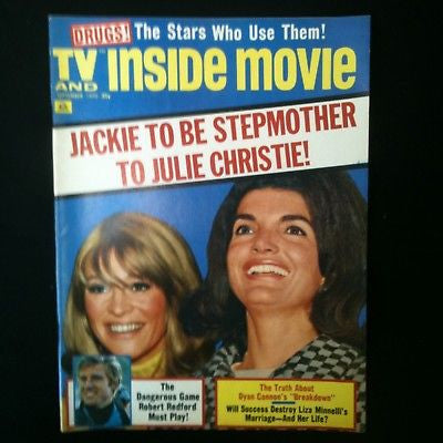 TV & Inside Movie Magazine 1970 Jackie Kennedy, Liza #48
