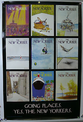 The New Yorker Going Places Original Poster