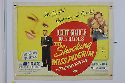 Betty Grable Shocking Miss Pilgrim Original Poster