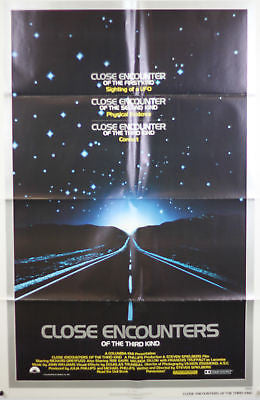 Close Encounters of Third Kind Original Movie Poster 27x41""