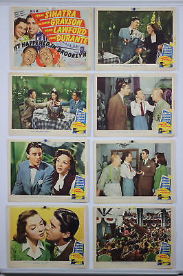 It Happened in Brooklyn Original Lobby Card Set  1947