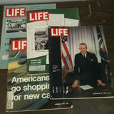 Lot Of 4 Life Magazines '63, '64, '67, and '71