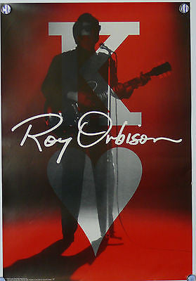 Roy Orbison Original Music Promo Poster 1992