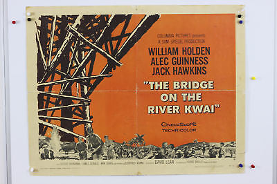 Bridge on the River Kwai Original Movie Poster 1958