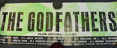 The Godfathers Original German Concert Poster 80's