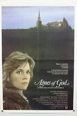 Agnes of God Original Movie Poster