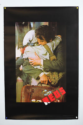 "Reds Original Movie Poster 26x39""  Rolled 1 Sheet"