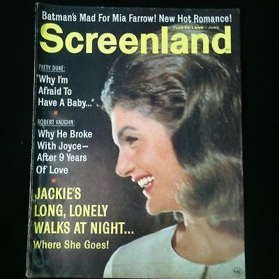 Screenland Magazine 1966 Jackie Kennedy, Batman #36