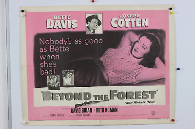 Bette Davis Beyond the Forrest  Original Movie Poster