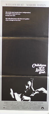 Children of a Lesser God Australian Original Poster