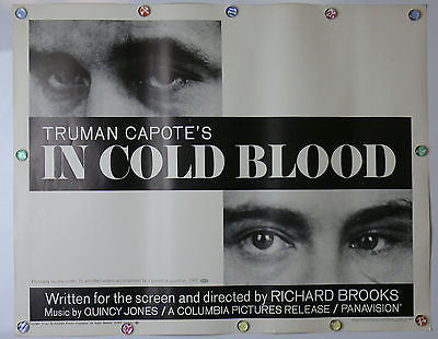 In Cold Blood Original Movie Poster 1967