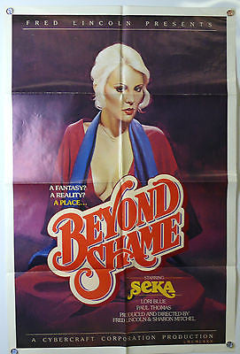 Beyond Shame Original X Rated Movie Poster