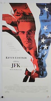 JFK Australian Original Movie Poster