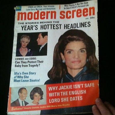 Modern Screen Magazine Jackie Kennedy #14