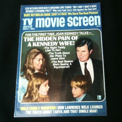 TV Movie And Screen Magazine 1972 Kennedy #28