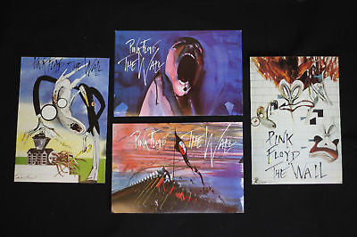 Pink Floyd Wall promo post cards set  UK import 1982