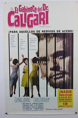 Cabinet of Dr. Caligari 60's  Original Movie Poster